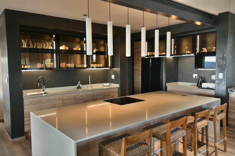 Kitchen facilities at Gweda Lodge luxury accommodation in Mabalingwe Bela-Bela