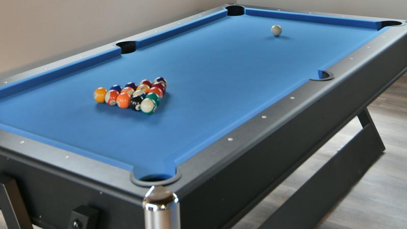 Pool table at Gweda Lodge luxury accommodation in Mabalingwe Bela-Bela