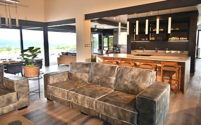 Interior of Gweda Lodge luxury accommodation in Mabalingwe Bela-Bela
